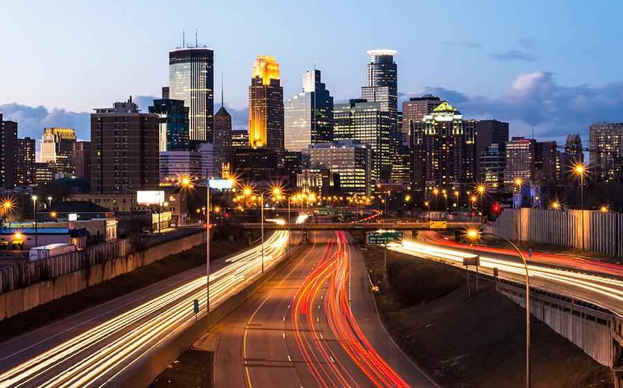 Minneapolis, MN Skyline